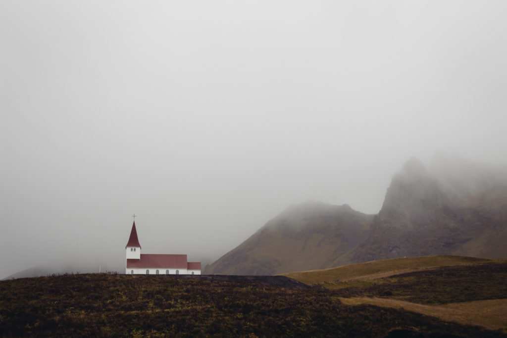 Iceland Vik Church